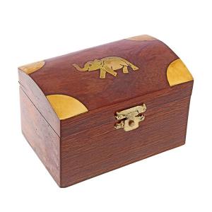 деревянная шкатулка Слон