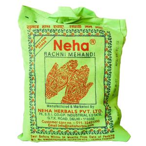 хна для мехенди в порошке КОРИЧНЕВАЯ марки Neha 1 пакет по 250 грамм
