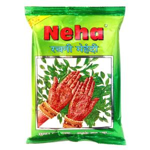 хна для мехенди КОРИЧНЕВАЯ марки Neha 1 пакет по 25 грамм