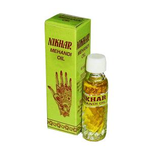 масло для мехенди марки Nikhar 1 флакон 6 мл
