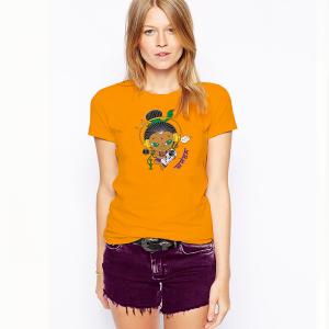 футболка женская Шива